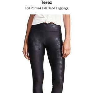 Terez Black Camo leggings